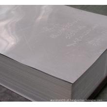 5052 Painel de alumínio fino para construção usado