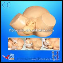 Modelo de entrega de vácuo ISO Modelo avançado de treinamento de obstetrícia entrega de bebê