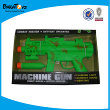 Hot toy machine gun with light and sound
