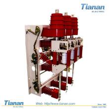 Interruptor de Interruptor de Carga de Alta Tensão Indoor Fn12-12 + Interruptor de Combinação de Fusível