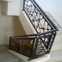 Laser Cut Steel Stair Panels