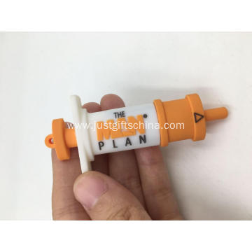 Custom Imprinted Syringe Shaped USB Flash Drives