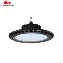 ETL DLC Chine bon marché ip65 imperméable UFO a mené la lumière élevée de baie 100w 150w 200w