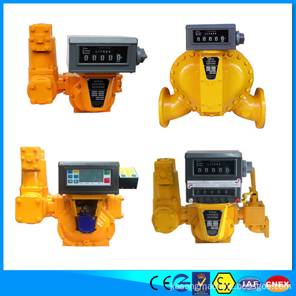 TCS flow meter for oil