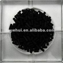 Carvão carbónico cilíndrico a carvão 3,0 mm para recuperação de solvente