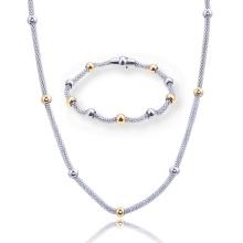 Bracelet de chaîne en forme de chaîne de maïs en forme de collier en acier inoxydable