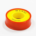100% PTFE Adhesive Tape PTFE Seal Tape Teflon Tape for Gas Pipe