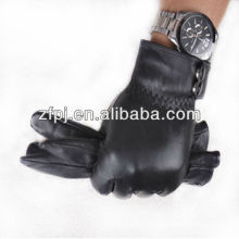 fashion leather material Nomex gloves