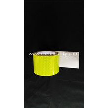 Fluorsecence yellow pvc reflective sticker