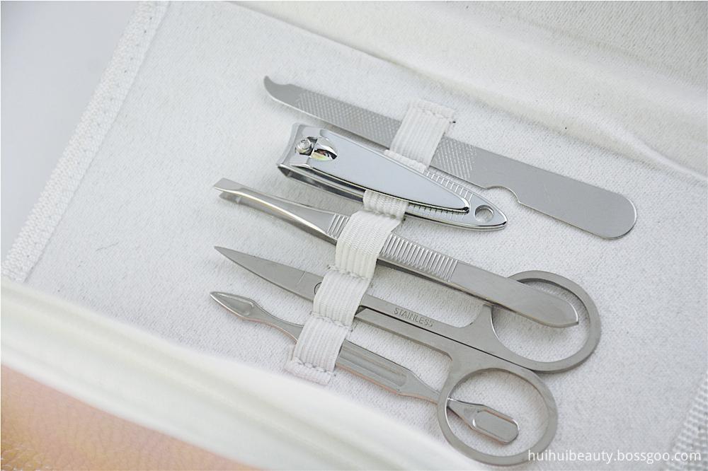 Manicure Set Leather Case