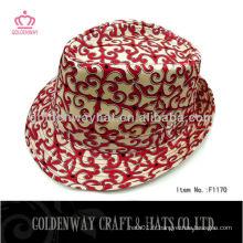 2013 Le plus récent chapeau fedora de coton de dames beau pour femme classique