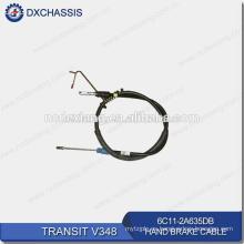 Cable de freno de estacionamiento de alta calidad ORIGINAL para Ford Transit V348 6C11 2A635 DB