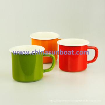 Sunboat Enamel Mug Cup Milk Cup Tableware Kitchenware/ Kitchen Appliance
