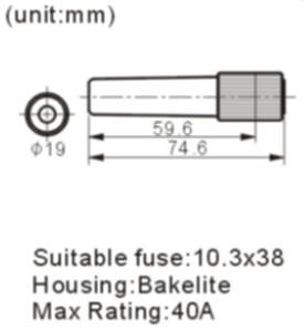 FH-601-1 fuse holder