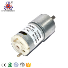 low noise 6v 12v 30mm dc gear motor with encoder