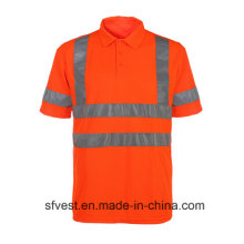 Tela de vestuário reflectante de segurança de alta visibilidade