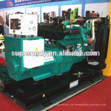 Cummins Motor 200kw Generator mit Kühler und Lüfter, ATS