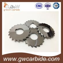 Lâmina circular de carboneto de tungstênio para corte de aço inoxidável e madeira