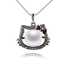 Hallo Kitty Katze geformt Zucht Perlen Anhänger