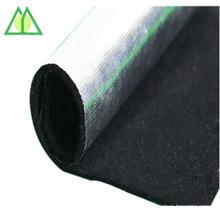Feutre ignifuge de feutre de feutre de fibre de carbone non-tissé pour les isolants thermiques de machine industrielle