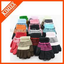 Fabrik benutzerdefinierte Winter Acryl Handschuhe