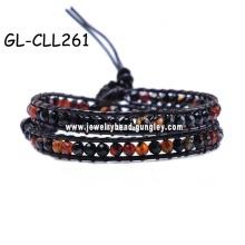 Пользовательские браслет сплава браслет gemstone браслет