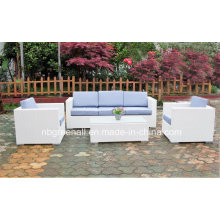 PE Ротанг диван установлен Открытый мебель из ротанга (9059S)