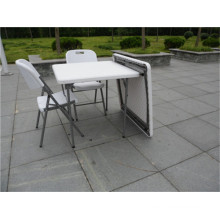 87cm Plastic Folding Quare Table for Weekend Picnic Use for Whole Sale