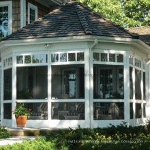 Feelingtop Heat Proof Commercial Sunroom with Curved Glass (FT-S)