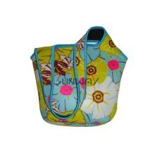 Bolsa de tela, de impresión personalizada neopreno aislados Beach Bag (BC0072)