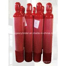 Hiqh Druck Feuer Kampf Gas Zylinder