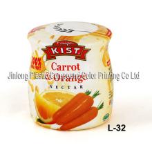 Shrink Sleeve Label for Fruit Juice Bottle
