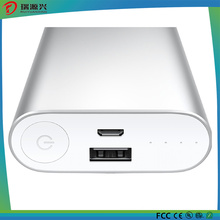 Aluminum Alloy Power Bank 10400mAh for Mobile Phones