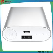 Banco 10400mAh do poder da liga de alumínio para telefones móveis