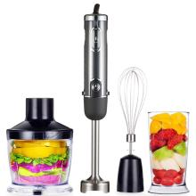 Powerful Immersion Blender Multi-Purpose Hand Blender Includes 500ml Food Processor 600ml Mixing Beaker and Whisk Stick Blender
