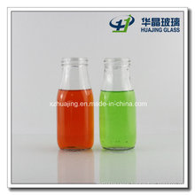 300ml 10oz Glass Milk Bottle with Screw Cap