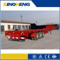 China-Hersteller-Versorgungs-LKW-Flachbett-halb Anhänger mit niedrigem Preis