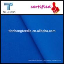 couleur bleu impérial haute qualité 80 s à armure toile coton popeline tissu pour chemise formelle