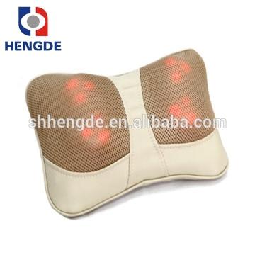 Mini massager vibrante de la parte posterior de la función de calefacción, massager trasero del uno mismo masaje