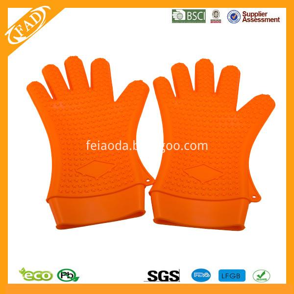 silicone glove L