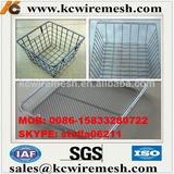 Manufacturer!!!!! KANGCHEN Hebei Direct supply rectangle stainless steel wire mesh basket