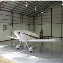 Hangar de acero de construcción prefabricada