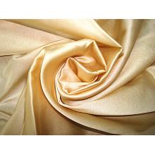 Tissu élastique en satin massif en satin