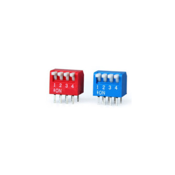 DP-04 DIP Switch 2.54mm Interrupteur de position 4 positions