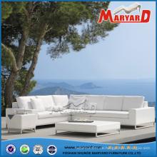 Outdoor Garten Stoff Selectional Sofa