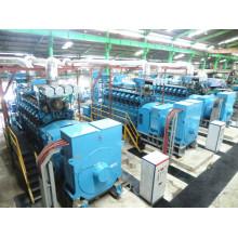 100MW Level Diesel Gas Heavy Treibstoff Stromerzeugung Pflanze