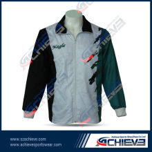 Retail manufacture sublimated free design dri fit jacket for male