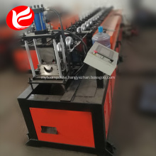 Light steel metal stud track roll forming machine