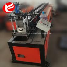 Machine de formage de rouleaux de rails à crampons en acier léger