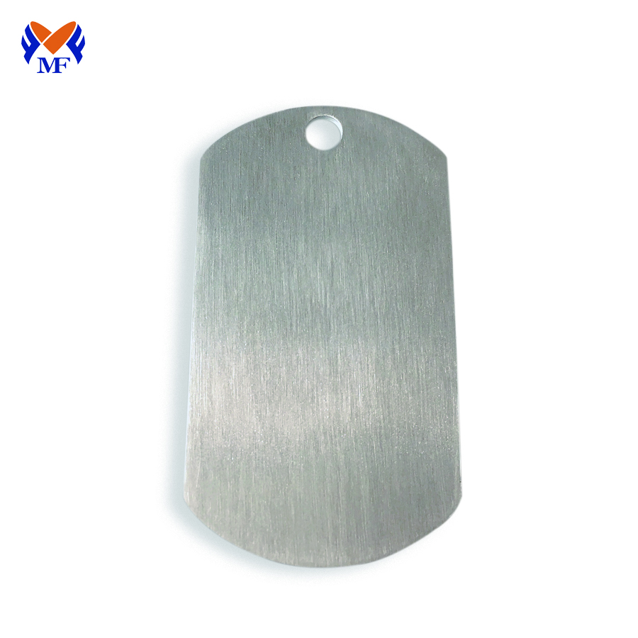 Blank Dog Tag Stainless Steel